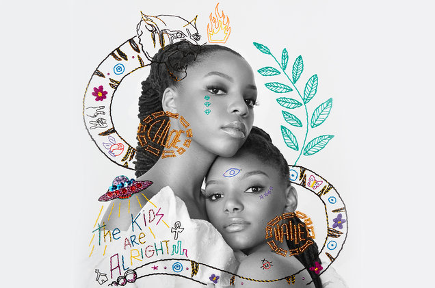 Chloe x Halle share debut album <I>The Kids Are Alright</i>