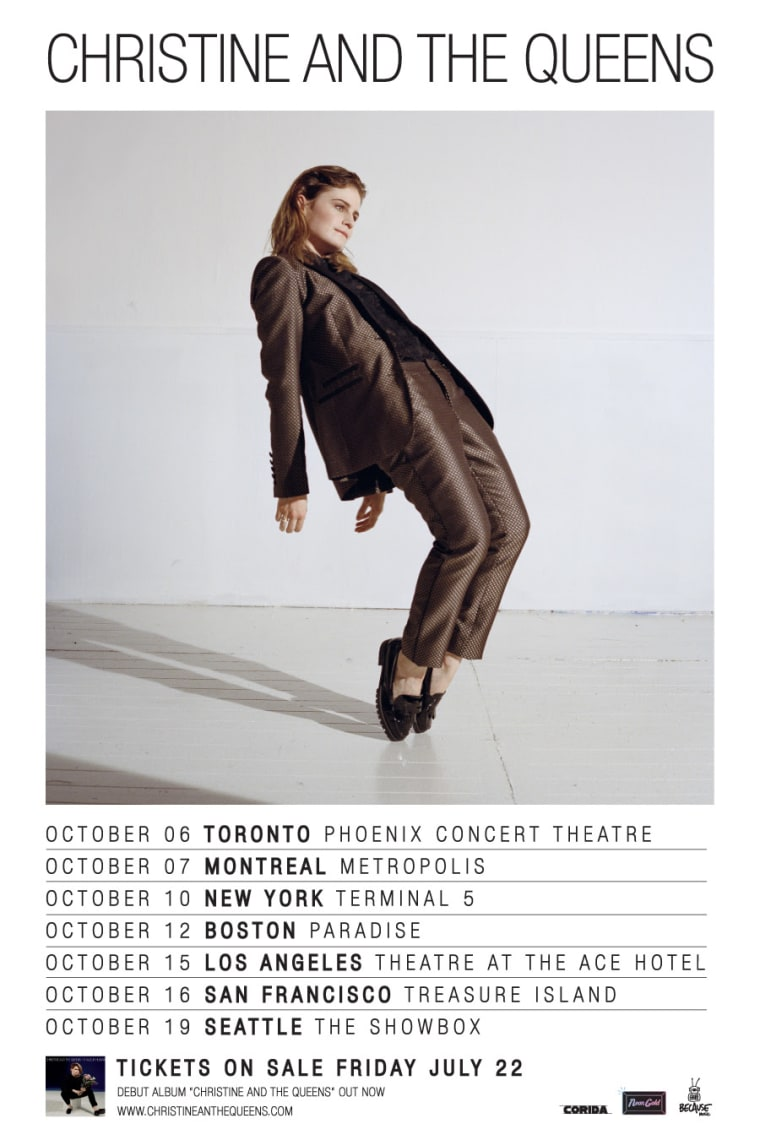 Christine And The Queens Announce North American Tour