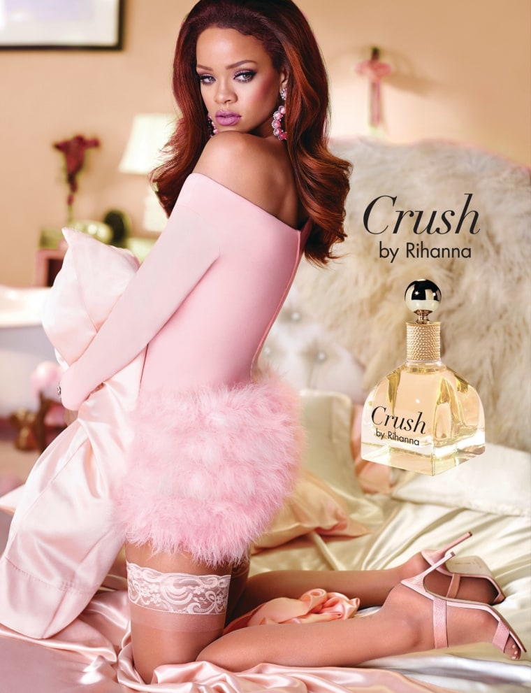 "Rihanna Releasing New Fragrance Called ""Crush"""