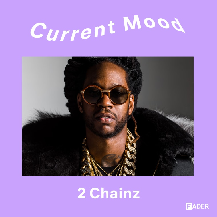 CURRENT MOOD: Work up a sweat with 2 Chainz's <i>Trap Workout</i> playlist