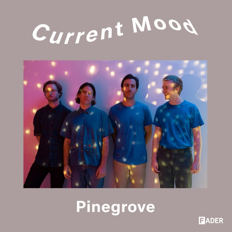 CURRENT MOOD: Pinegrove's favorite songs with colors in the title, arranged by tempo