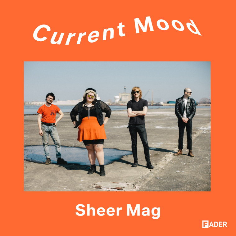 CURRENT MOOD: Listen to a playlist of Sheer Mag's tour van favorites
