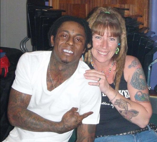 This Is The Woman Responsible For 300 Of Lil Wayne\'s Tattoos | The FADER