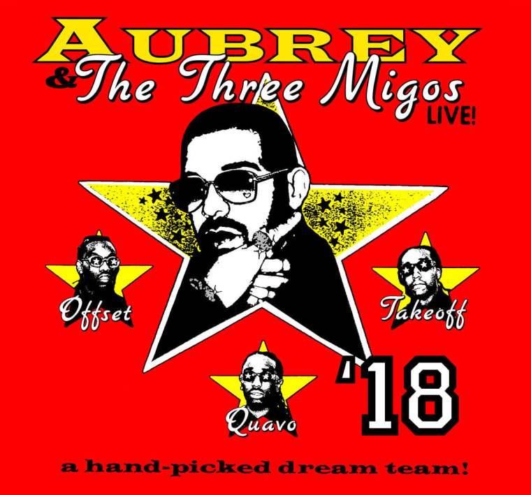 Here's the new list of tour dates for the Drake and Migos tour