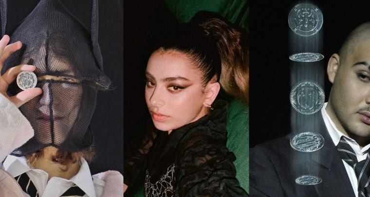 "Charli XCX hops on the remix of Bladee and Mechatok's ""Drama"""