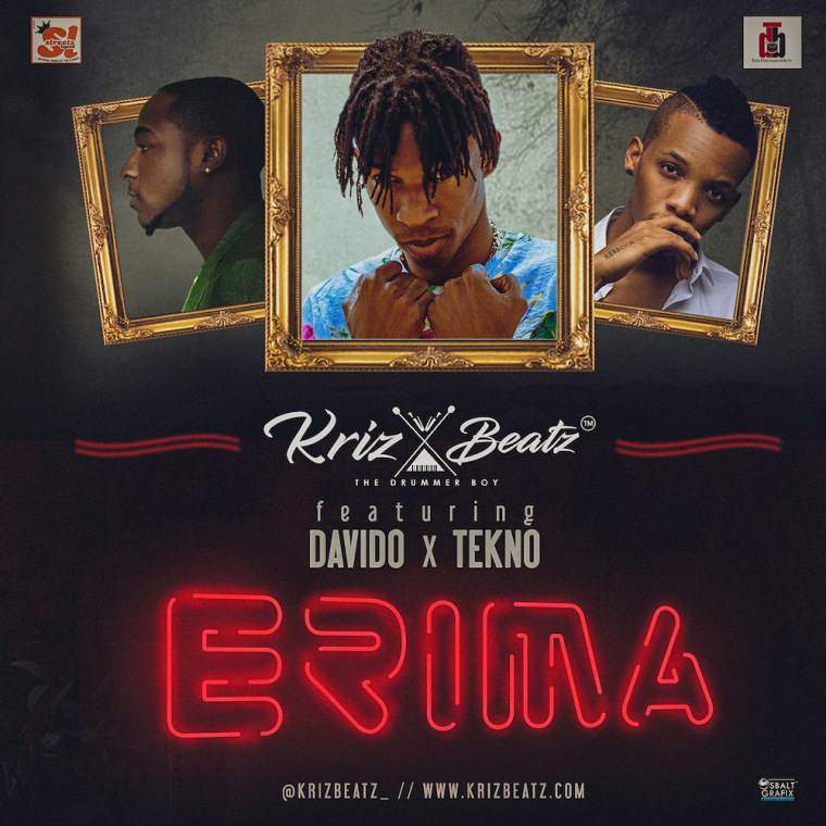 "Nigeria's Krizbeatz Brings The Summer Vibes On ""Erima"" Featuring Davido And Tekno"