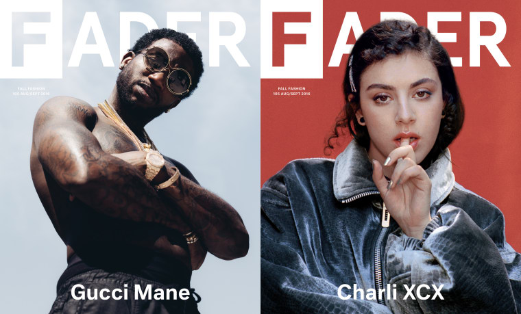 Download The FADER 105, Featuring Gucci Mane And Charli XCX, For Free