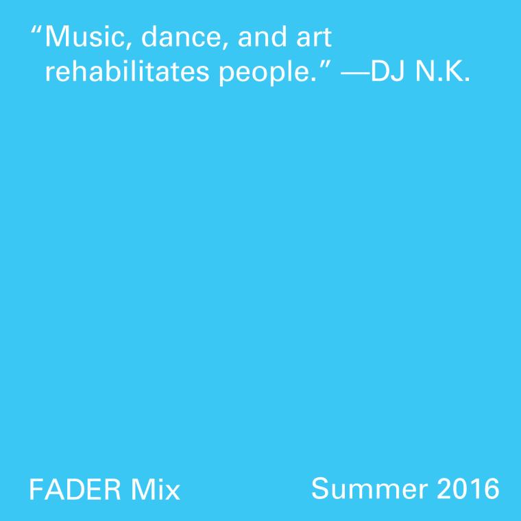 FADER Mix: DJ N.K.