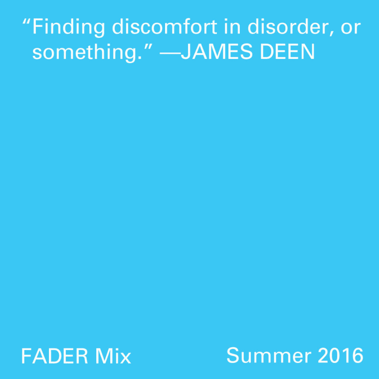 FADER Mix: James Deen