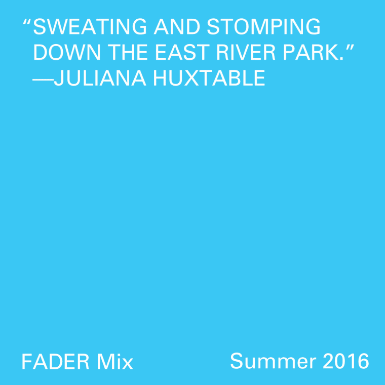 FADER Mix: Juliana Huxtable