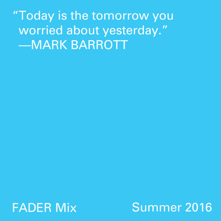 FADER Mix: Mark Barrott
