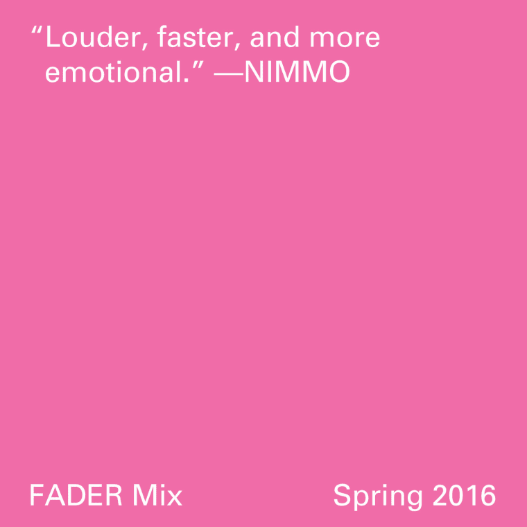 FADER Mix: Nimmo