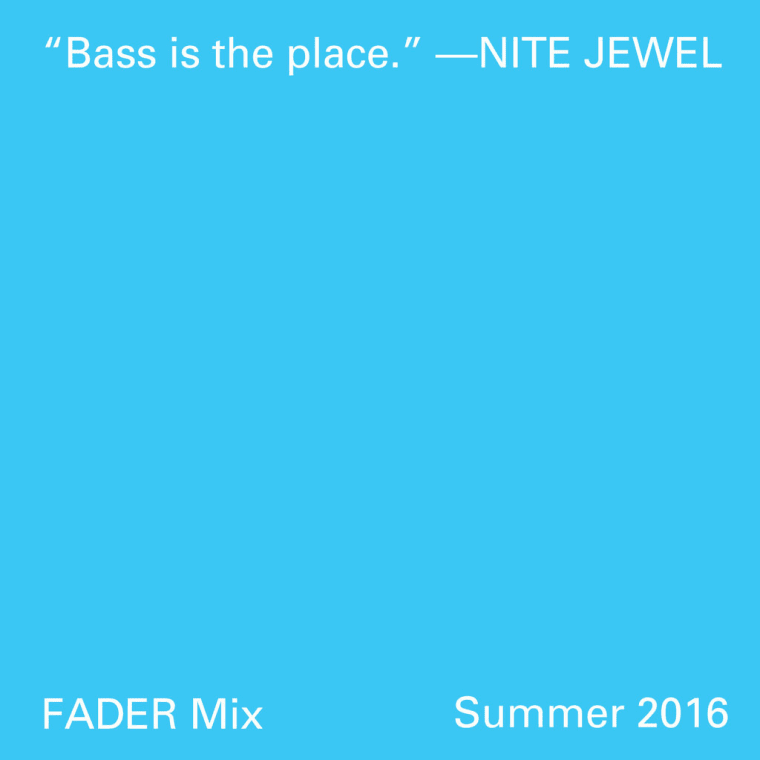 FADER Mix: Nite Jewel