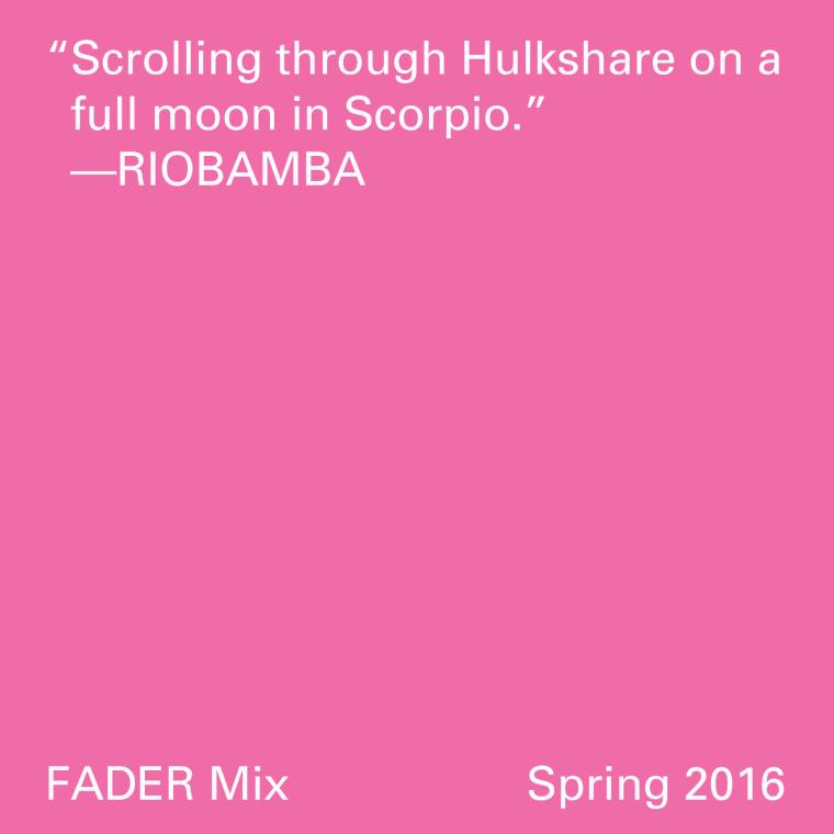 FADER Mix: Riobamba