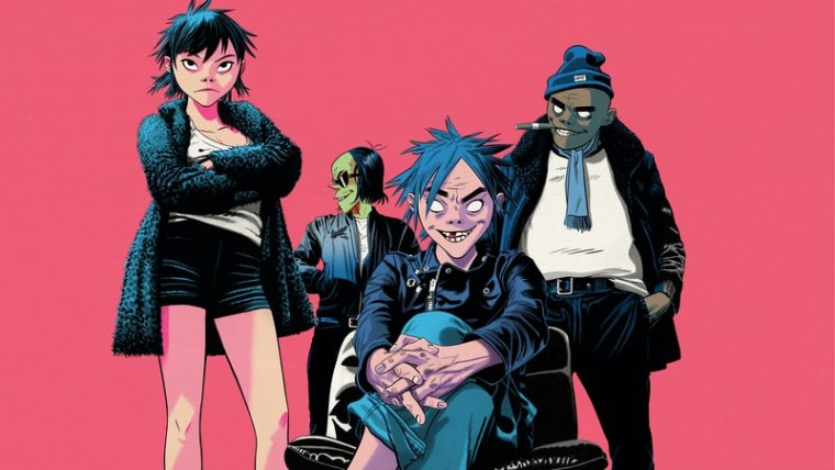 Hear Gorillaz's new album <i>The Now Now</i>