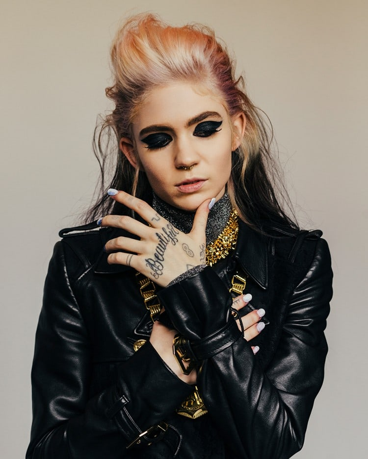 "Grimes Says Her Next Project Will Be ""Really Slow And Gorgeous"""
