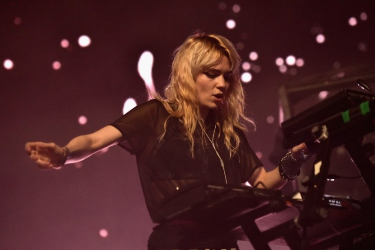 Grimes shares clips of two new songs
