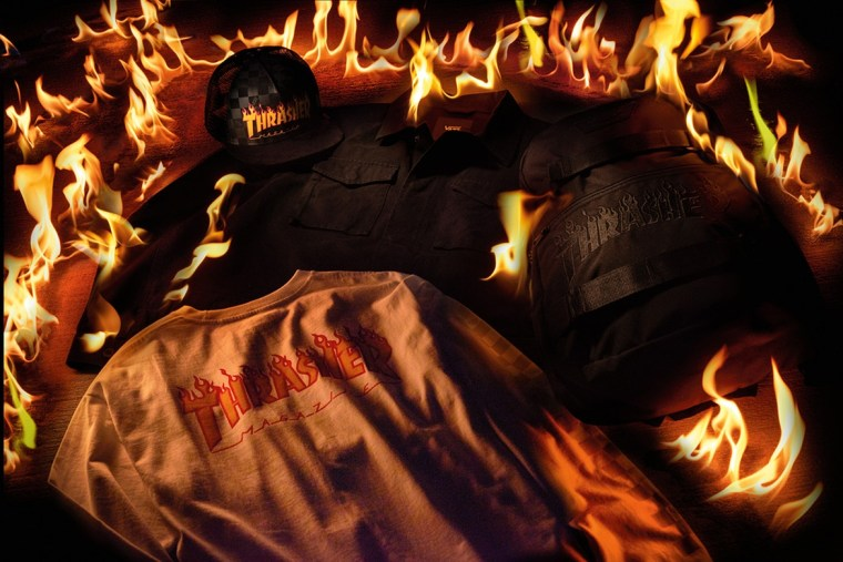 Thrasher and Vans Team Up For A Fiery New Collection