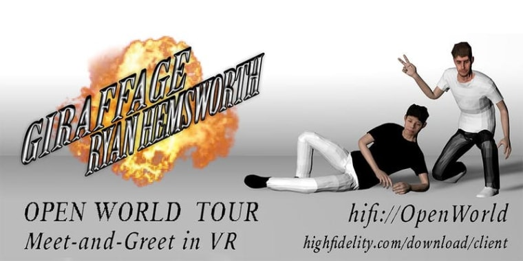 Ryan Hemsworth and Giraffage are hosting a virtual reality meet and greet