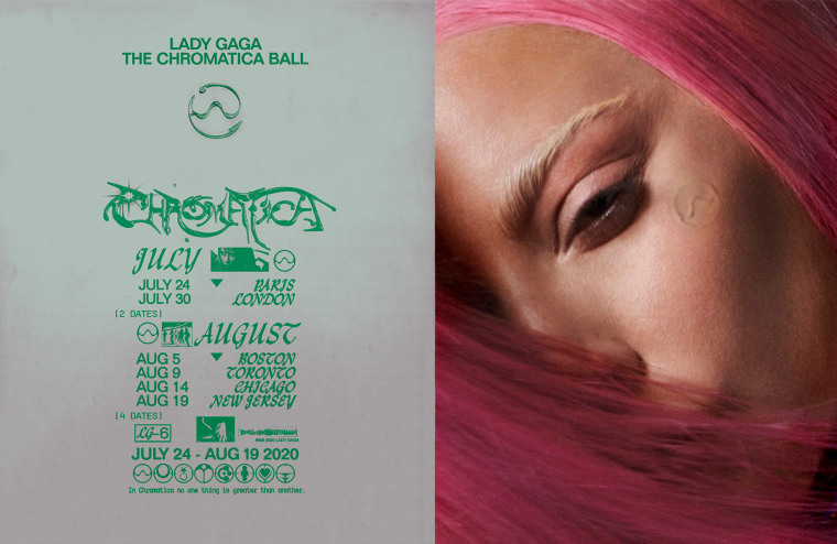 Lady Gaga announces The Chromatica Ball tour