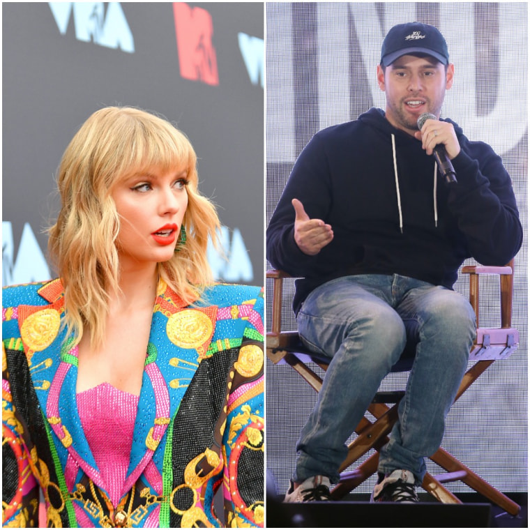 Scooter Braun broke his public silence about Taylor Swift