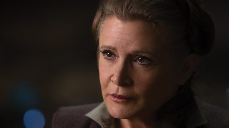 Carrie Fisher Will Appear In Ninth Star Wars Film Without CGI