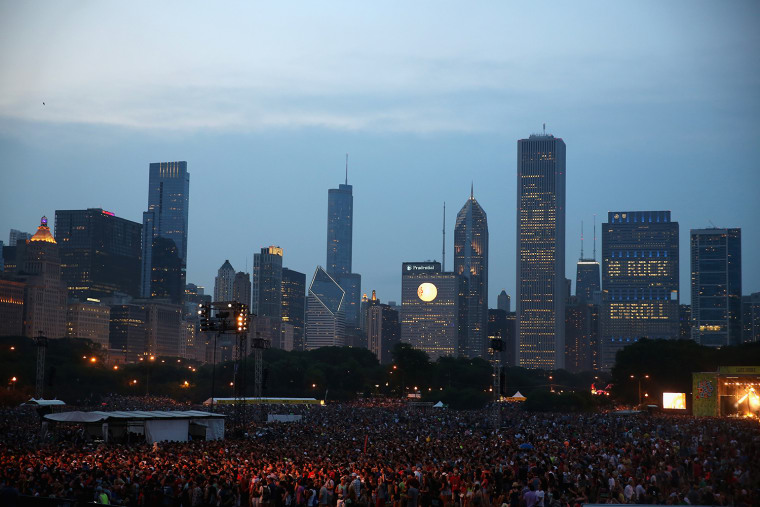 Lollapalooza Briefly Evacuated Due To Severe Thunderstorm Warning