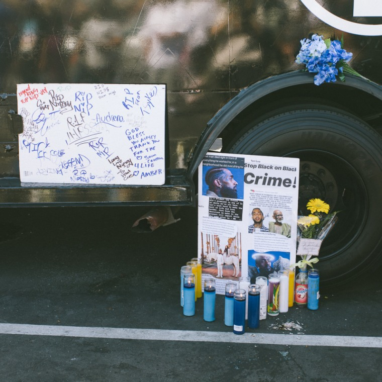 Nipsey Hussle's memorial is shutting down because people were exploiting it