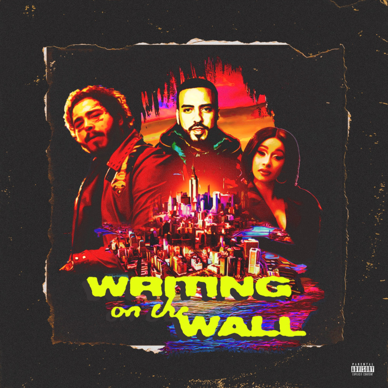 "Post Malone, Rvssian and Cardi B join French Montana on ""Writing on the Wall"""
