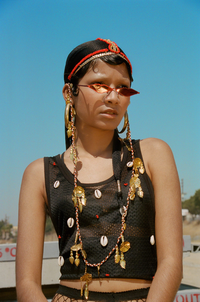 East L.A. meets India in NorBlack NorWhite's latest lookbook
