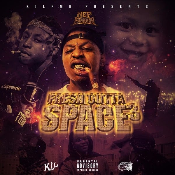 Listen To Nef The Pharaoh's New Mixtape <i>Fresh Outta Space 3</i>