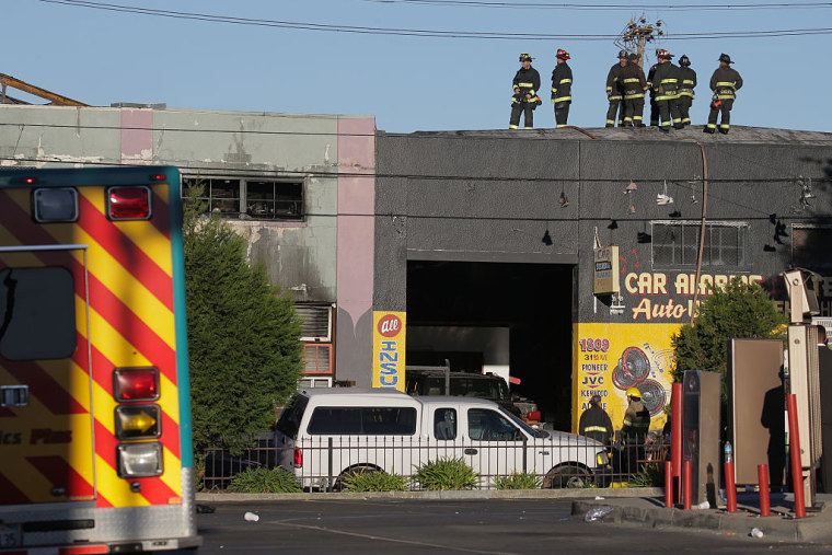 Criminal Investigation Launched As Oakland Fire Death Toll Rises To 33