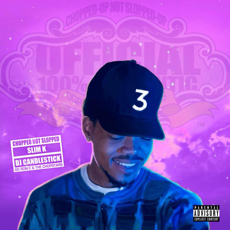 Hear OG Ron C's Chopped Not Slopped Version Of Chance The Rapper's <i>Coloring Book</i>