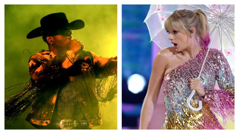 Lil Nas X lassoes this week's number one away from Taylor Swift