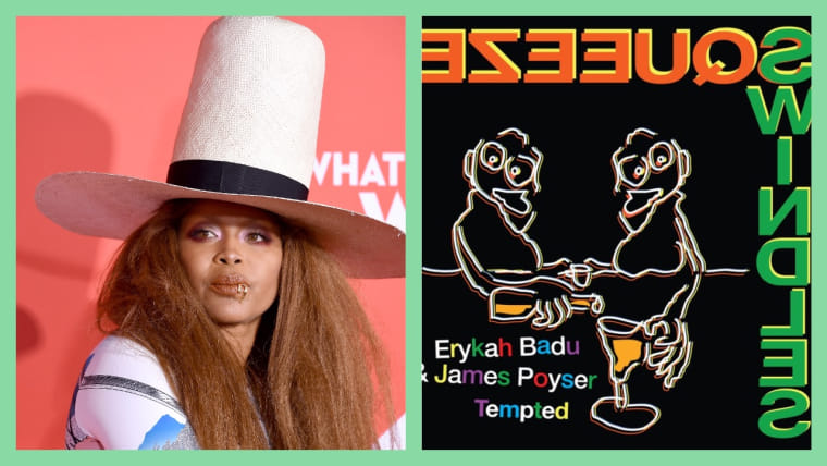 """Hear Erykah Badu and James Poyser's silken cover of """"Tempted"""" by Squeeze"""