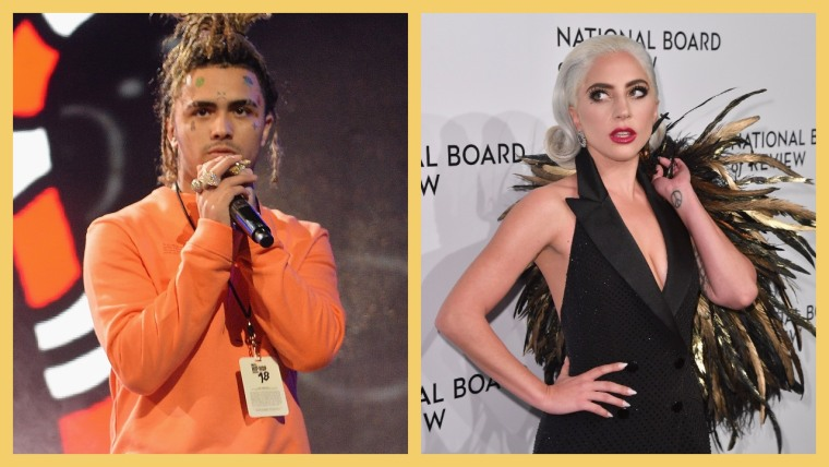 Lil Pump says that Lady Gaga is on his new album