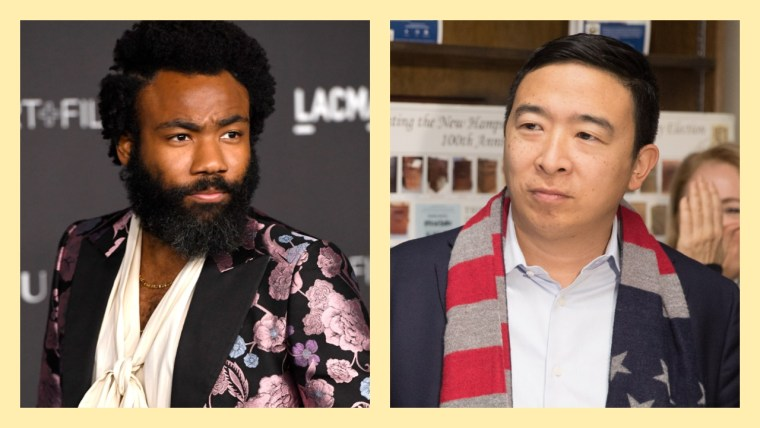 """Donald Glover is officially Andrew Yang's """"creative consultant"""""""