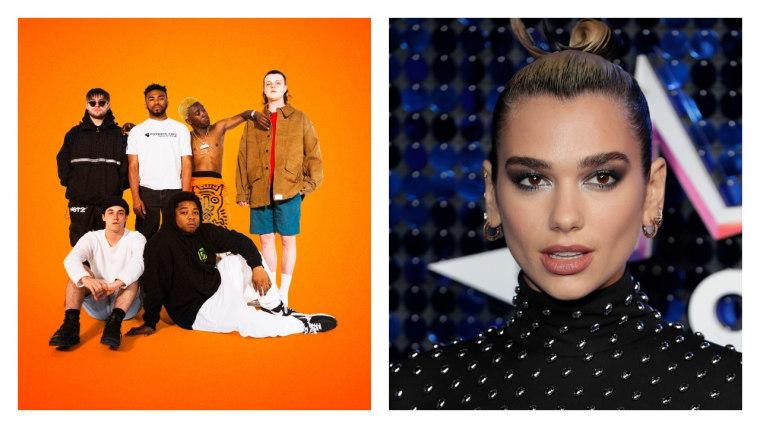 "BROCKHAMPTON and Dua Lipa link up on ""SUGAR"" remix"