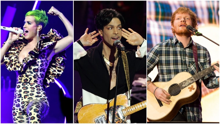Prince really didn't like Ed Sheeran or Katy Perry, according to his memoir
