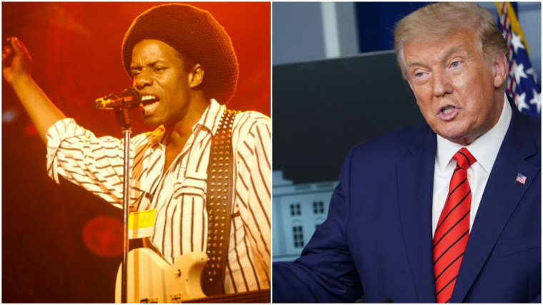 Eddy Grant suing Trump campaign officials for copyright infringement