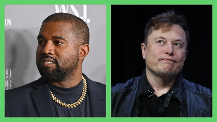 Elon Musk seems to be rethinking his endorsement of Kanye West