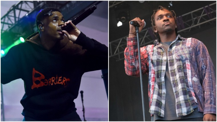 """Listen to Pusha-T and Vince Staples on Divine's new song """"Jungle Mantra"""""""