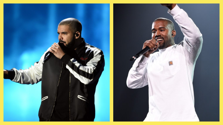 "Kanye West on Drake: ""It ain't no beef... We all got love for Drake."""