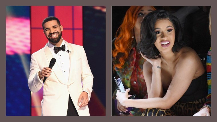 Drake and Cardi B lead nominations for BET Hip-Hop Awards