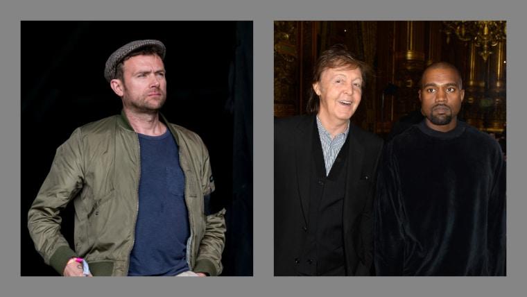 Damon Albarn says he warned Paul McCartney against working with Kanye West