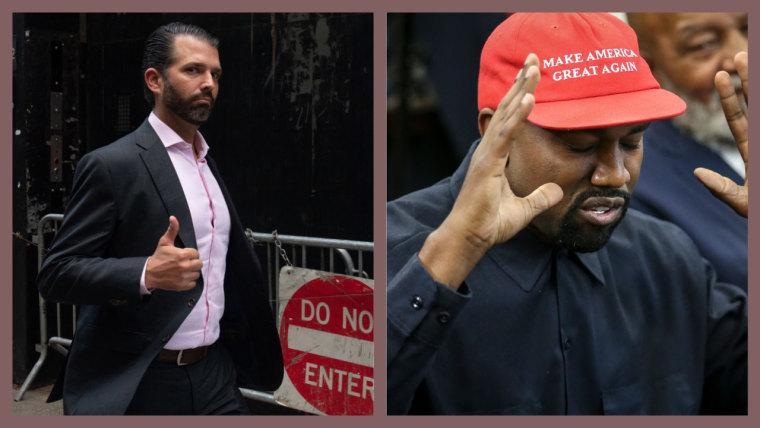 Sorry, but Donald Trump Jr. loves Kanye West's <I>Jesus Is King</i>