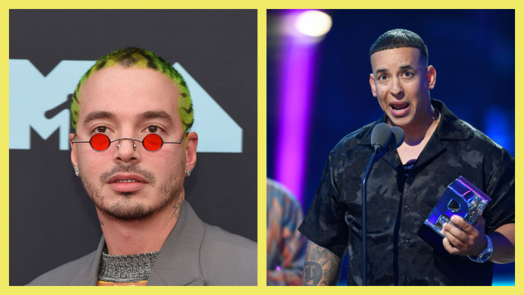 J Balvin and Daddy Yankee speak out in protest of the Latin Grammys