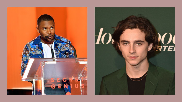 Frank Ocean interviewed Timothée Chalamet about <I>Call Me By Your Name</i>