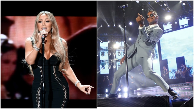 "Watch Mariah Carey and Maxwell sing Prince's ""When You Were Mine"""