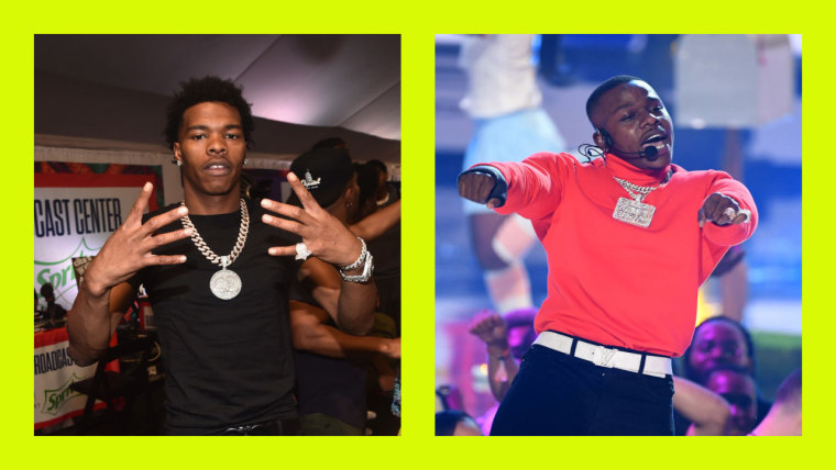 "Lil Baby and DaBaby link-up on ""Baby"""